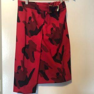 Red Dress Skirt